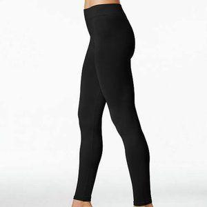 First Looks S/M Fits 4-8 Seamless Leggings Black